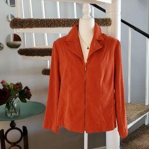Plus-size Zip up Jacket